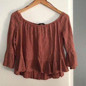 Off Shoulder Zara Blouse (XL)